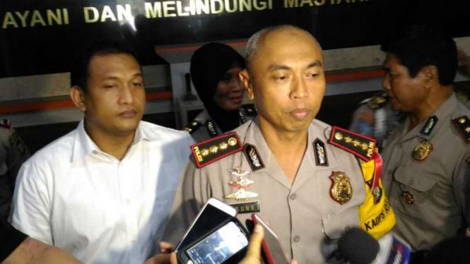 Kapolres Jakarta Timur Komisaris Besar M Agung Budijono