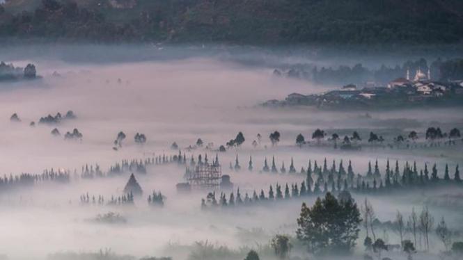 Dataran Tinggi Dieng, Wonosobo.