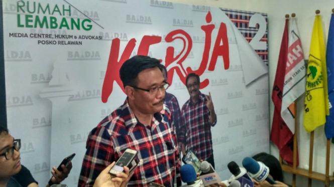 Calon Wakil Gubernur DKI Jakarta, Djarot Saiful Hidayat.