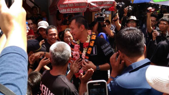 Calon Gubernur DKI Jakarta, Agus Harimurti Yudhoyono