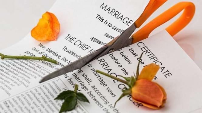 Ilustrasi perceraian.