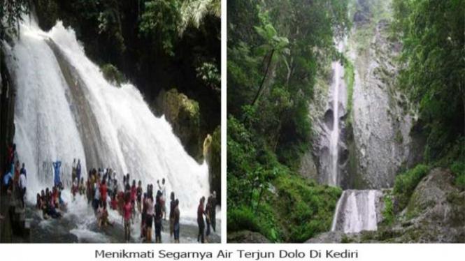 Air Terjun Dolo, Kediri.