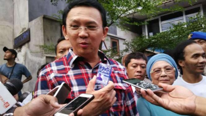 Gubernur DKI Jakarta nonaktif Basuki Tjahaja Purnama atau Ahok.