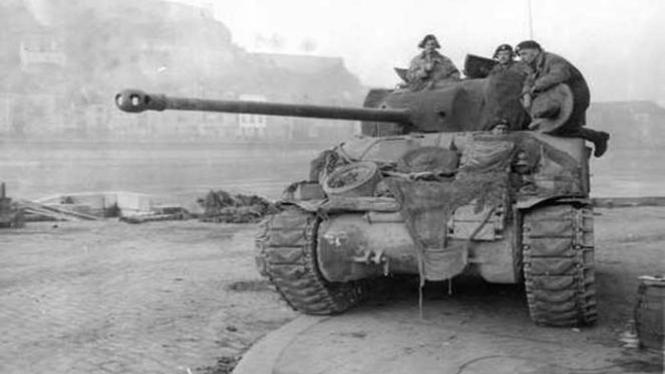 Tank terbaik Perang Dunia II.