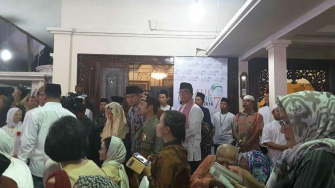 Cagub DKI Agus Yudhoyono hadiri haul Gus Dur