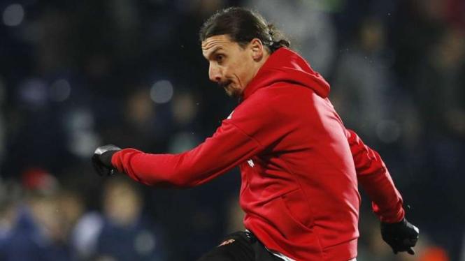 Penyerang Manchester United, Zlatan Ibrahimovic 1
