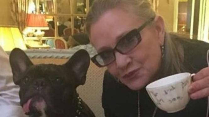 Carrie Fisher meninggal dunia