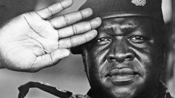Idi Amin.