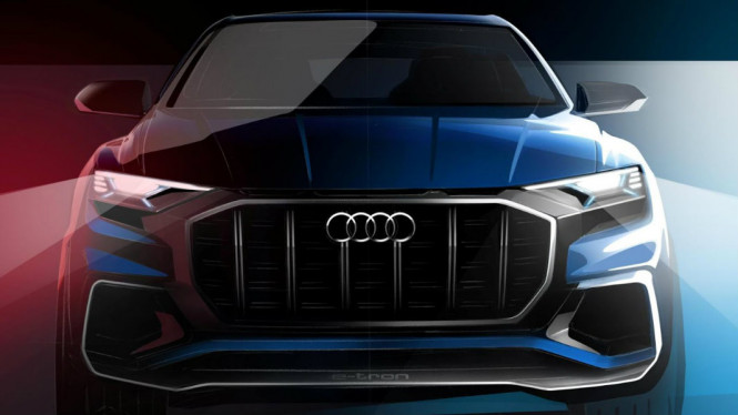Bocoran sketsa Audi Q8