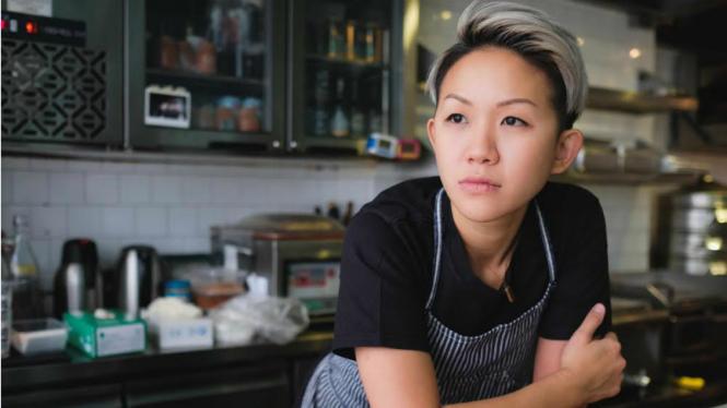 May Chow, juru masak wanita terbaik Asia tahun 2017.