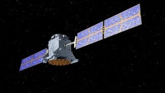 Ilustrasi satelit.