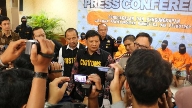 Petugas Bea Cukai Soekarno-Hatta gagalkan upaya penyelundupan narkoba