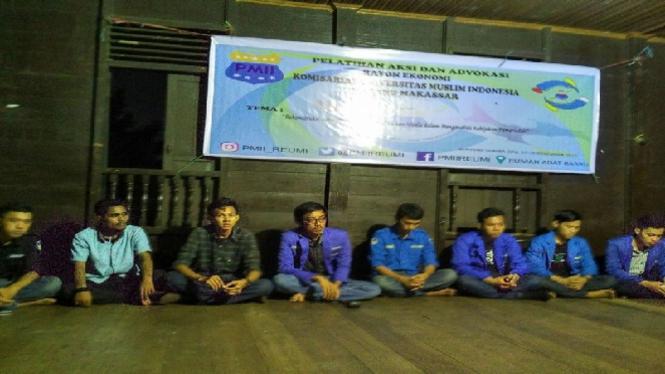 Pelatihan Aksi dan Advokasi PMII UMI Makassar
