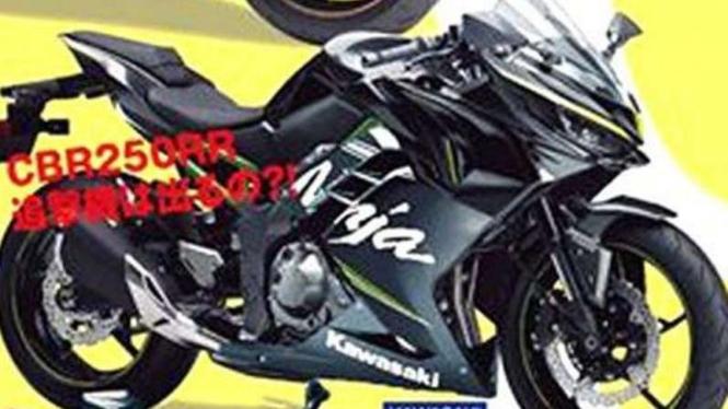 Bocoran Wujud Ninja 250 Terbaru Mesin Empat Silinder Viva