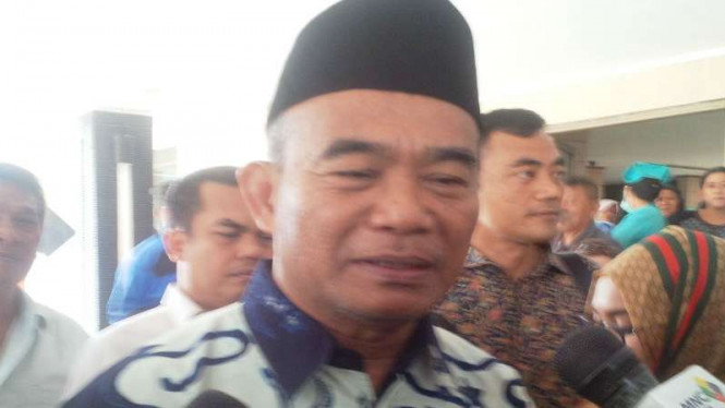 Menteri Pendidikan dan Kebudayaan, Muhadjir Effendy.
