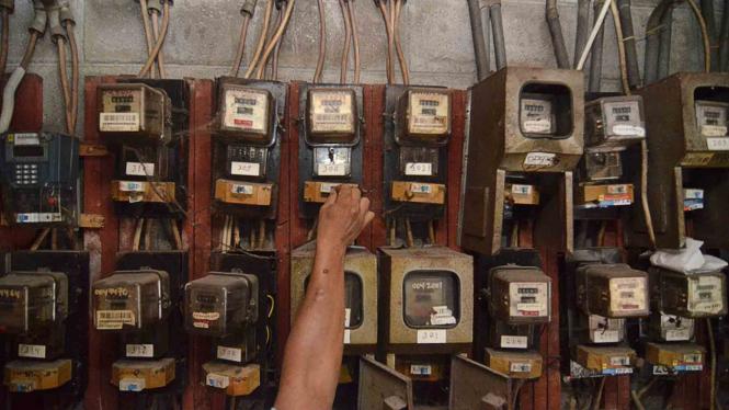 Meteran listrik/Ilustrasi.