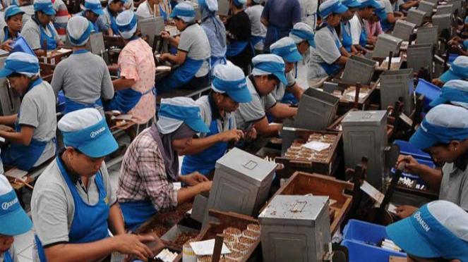 Ilustrasi pekerja buruh.