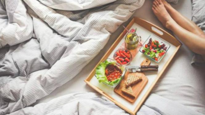 Ilustrasi sarapan.