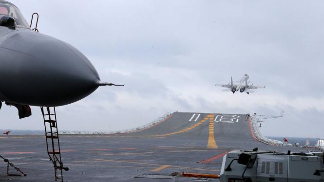 China gelar latihan di Laut China Selatan.