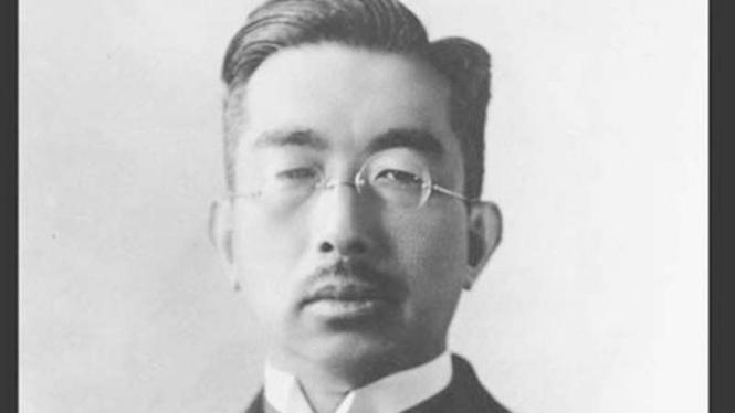 Mendiang Kaisar Jepang Hirohito.