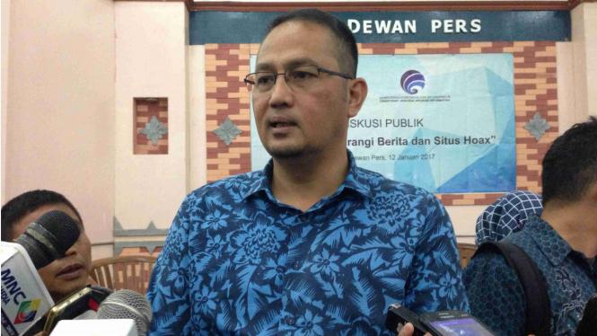 Direktur Jenderal Aplikasi Informatika Kominfo Semuel Abrijani Pangerapan.