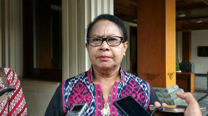 Menteri Pemberdayaan Perempuan dan Perlindungan Anak, Yohana Susana Yembise.
