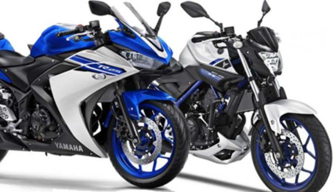 Yamaha R25 dan MT-25.
