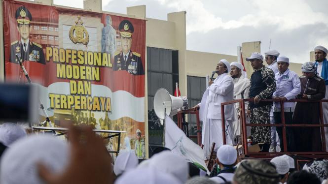 Imam Besar Front Pembela Islam, Habib Rizieq.