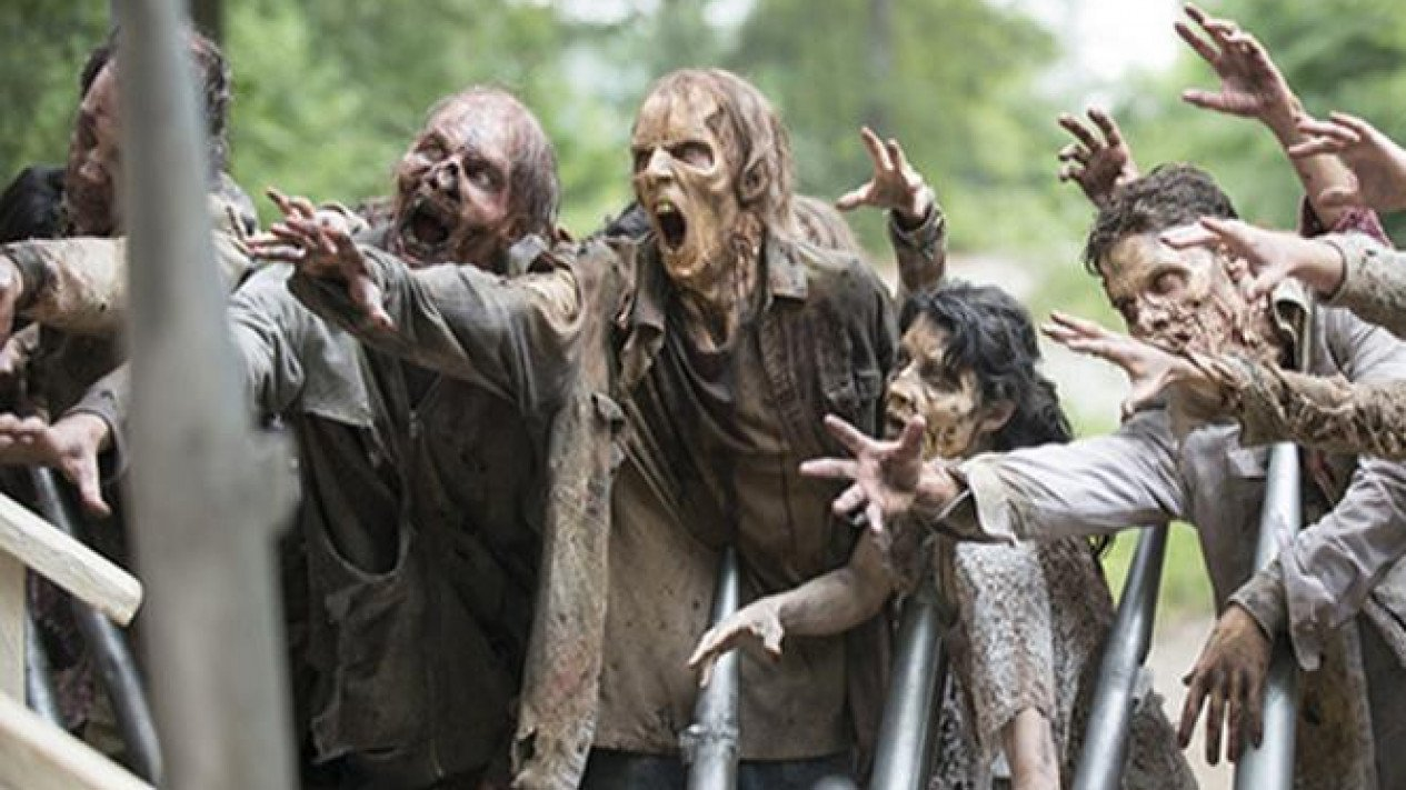 Ilustrasi zombie.