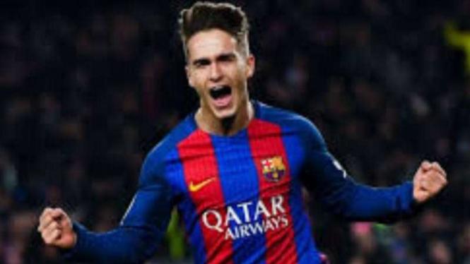 Pemain Barcelona, Denis Suarez.