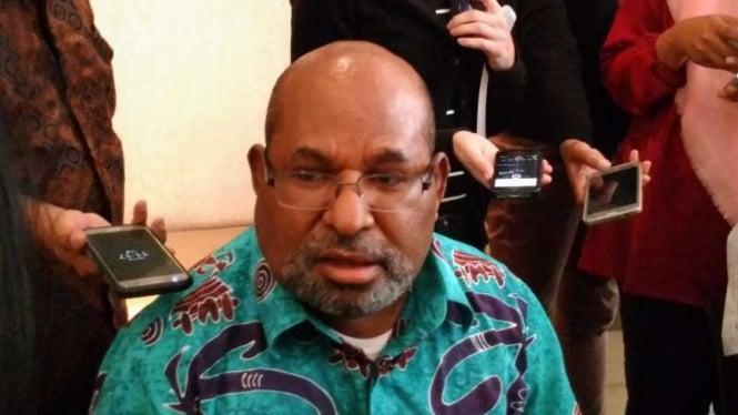 Gubernur Papua, Lukas Enembe.