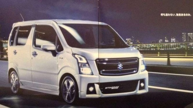 Suzuki Wagon R Stingray 2017. Ilustrasi