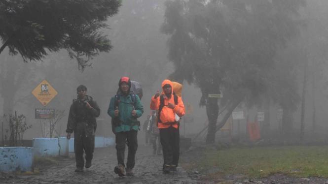 Ilustrasi/Pencarian pendaki gunung yang hilang