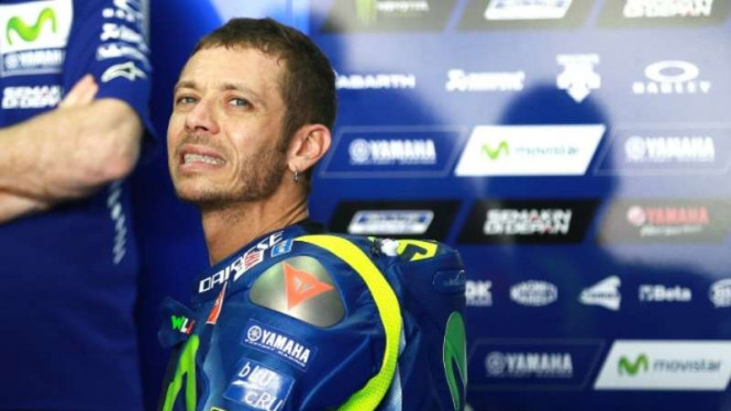 Pembalap Yamaha, Valentino Rossi