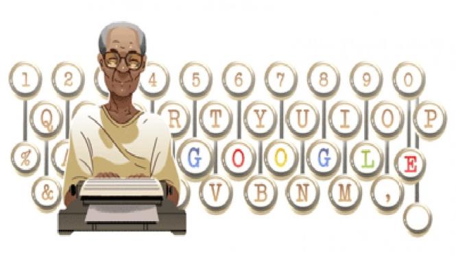Doodle Google peringati ulang tahun Pramudya Ananta Toer