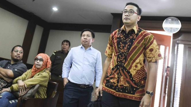 Mantan penyidik KPK Raden Brotoseno