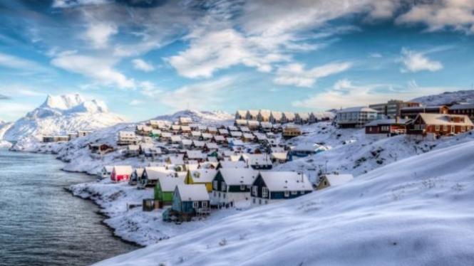 Nuuk di Greenland.