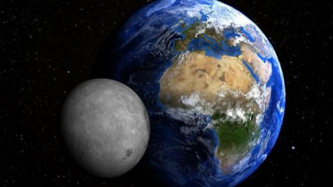 Bumi dan Bulan.