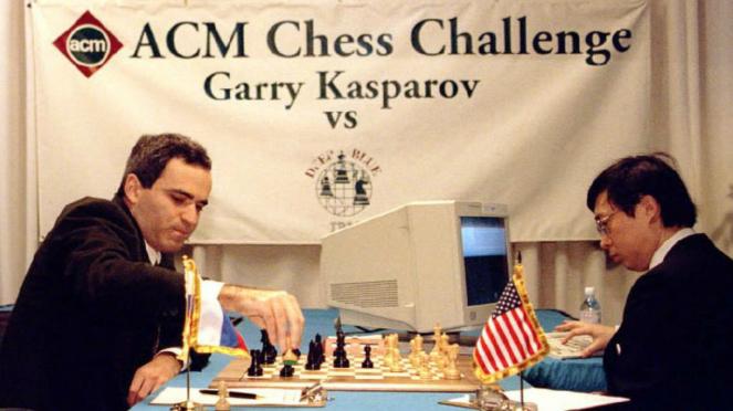 Pertandingan catur antara manusia dan komputer