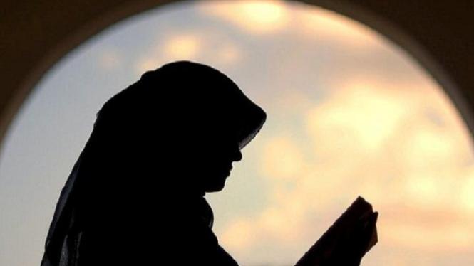 Ilustrasi wanita pengasuh Rasulullah SWT.