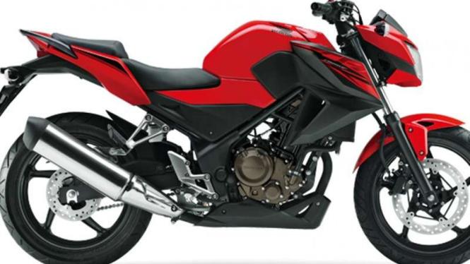Honda CB250F.