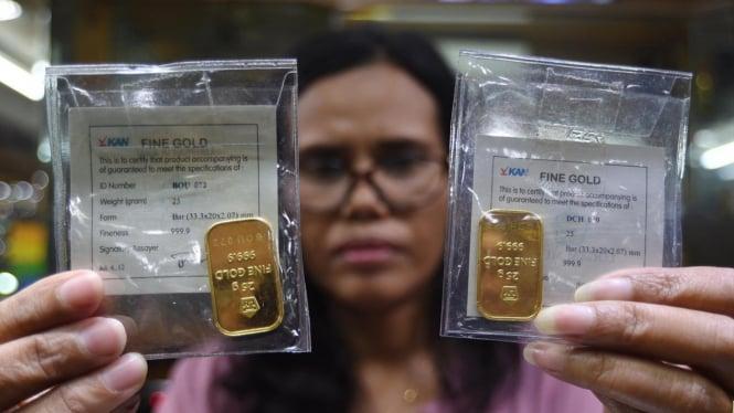 Investor Mulai Cuek Dengan Perang Dagang Harga Emas Naik Viva