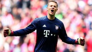 Penjaga gawang Bayern Munich, Manuel Neuer.