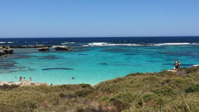 Pantai Perth Australia.