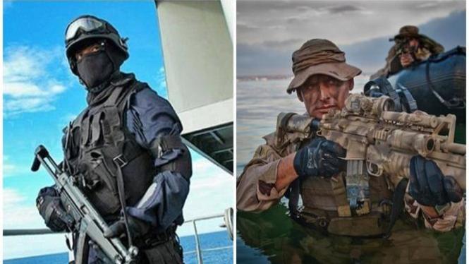 Pasukan Denjaka dan Navy SEAL.