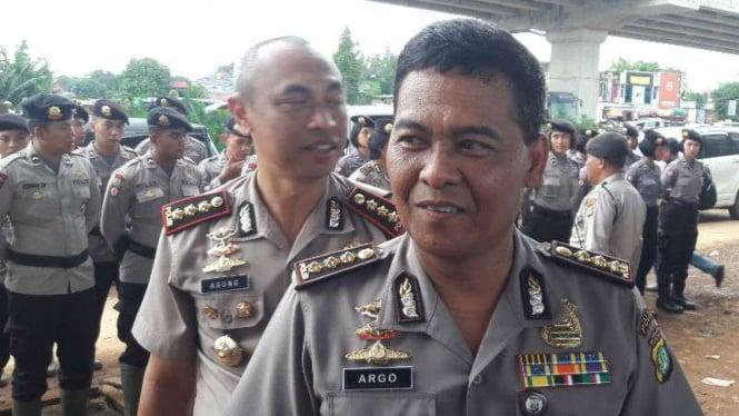 Kabid Humas Polda Metro Jaya, Kombes Pol Raden Prabowo Argo Yuwono.