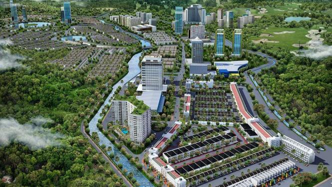 Masterplan Kota Jababeka