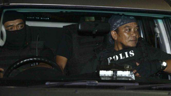 Polisi Anti-teror Malaysia.