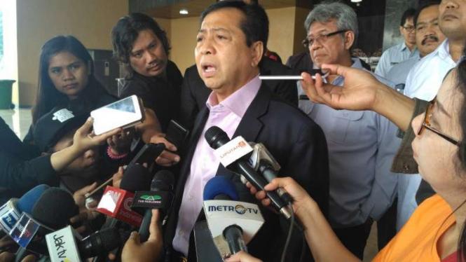 Ketua DPR, Setya Novanto.