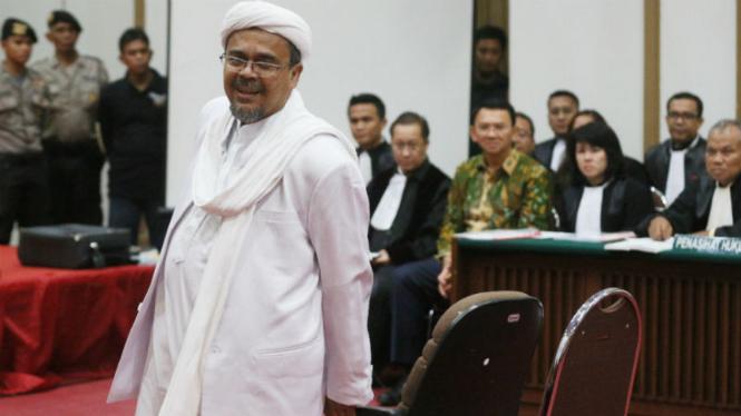 Daftar Kasus Yang Dituduhkan Ke Habib Rizieq